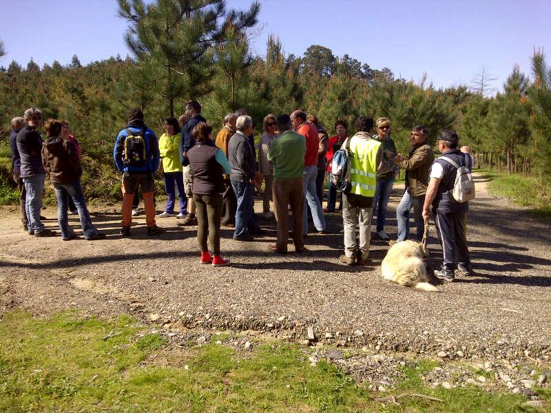 Imaxe da Andaina-coloquio no Monte de Cabral