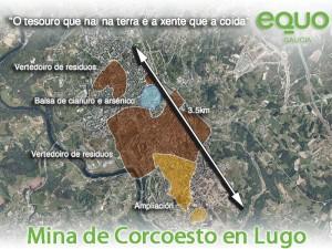 Mina Corcoesto proxectada en Lugo