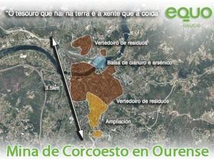 Mina Corcoesto proxectada en Ourense