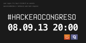 Logo iniciativa Hackea o Congreso