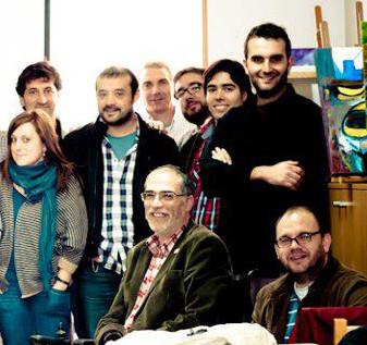 Foto dunha das primeiras xuntanzas de EQUO Galicia
