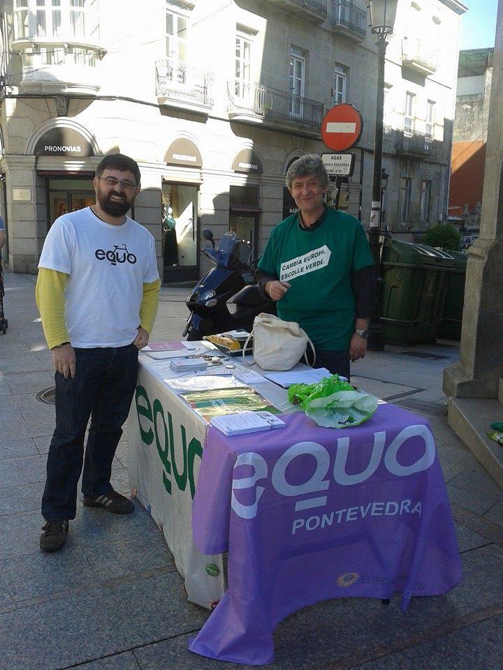 EQUO*! na rúa Principe en Vigo