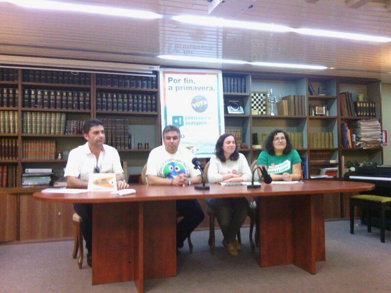 Presentación de Primavera Europea*! en Ourense