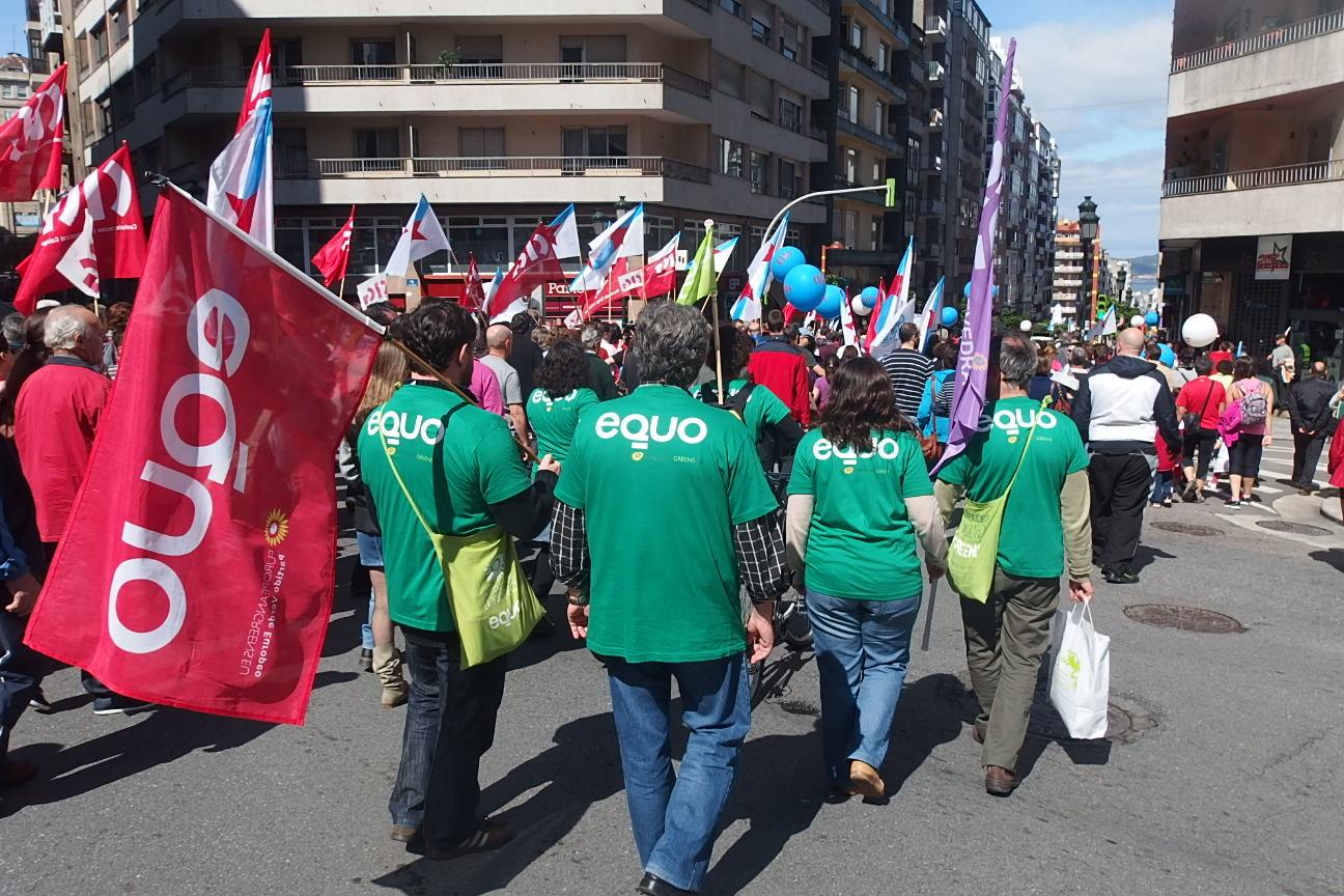 EQUO Galicia no 1º de maio