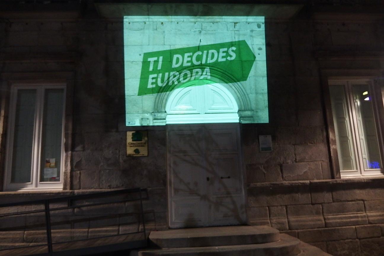 Pegada virtual de carteis en Vigo
