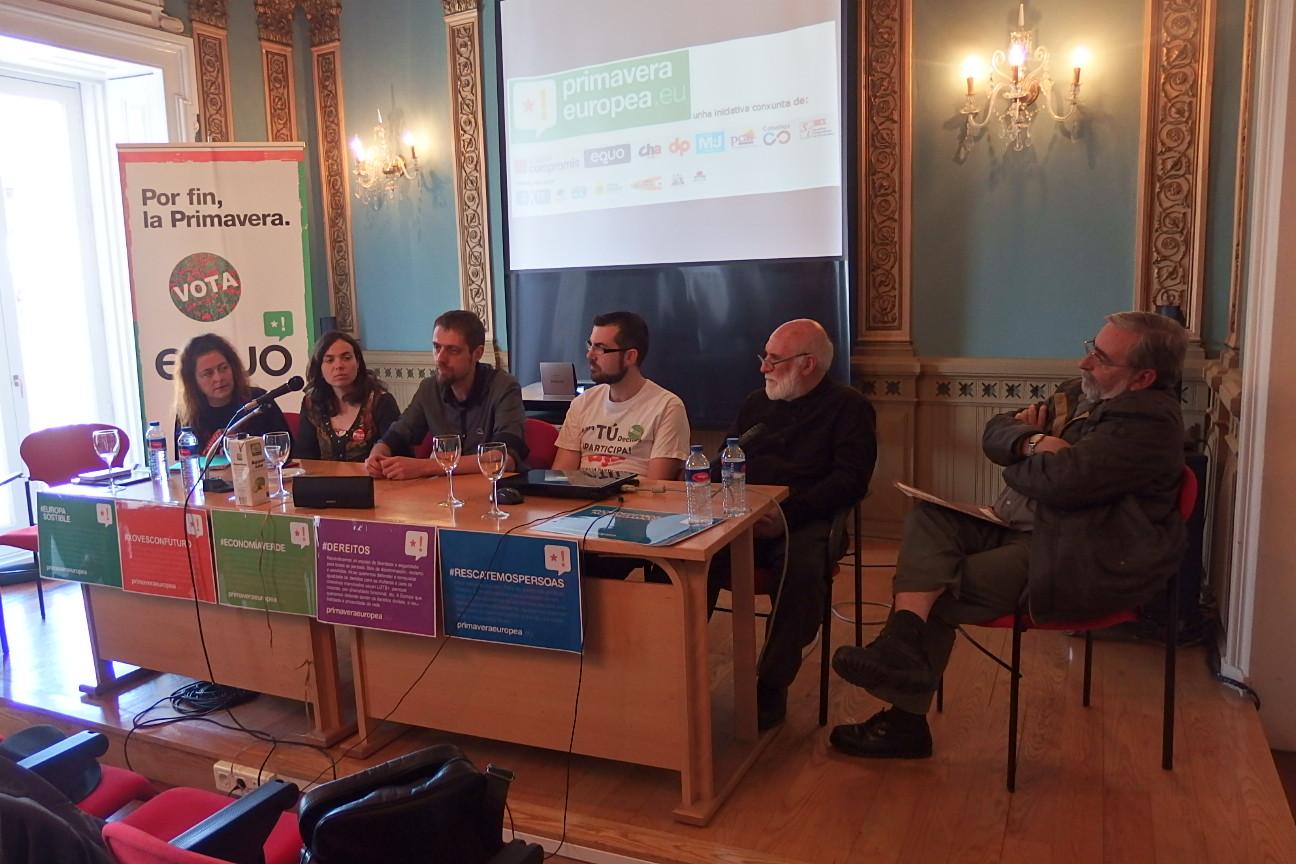 Encontro sobre Economía alternativa e verde