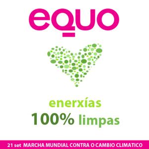 Imaxe EQUO ama as enerxías 100% limpas