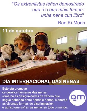 En EQUO Galicia tamén celebramos o Día Internacional das Nenas