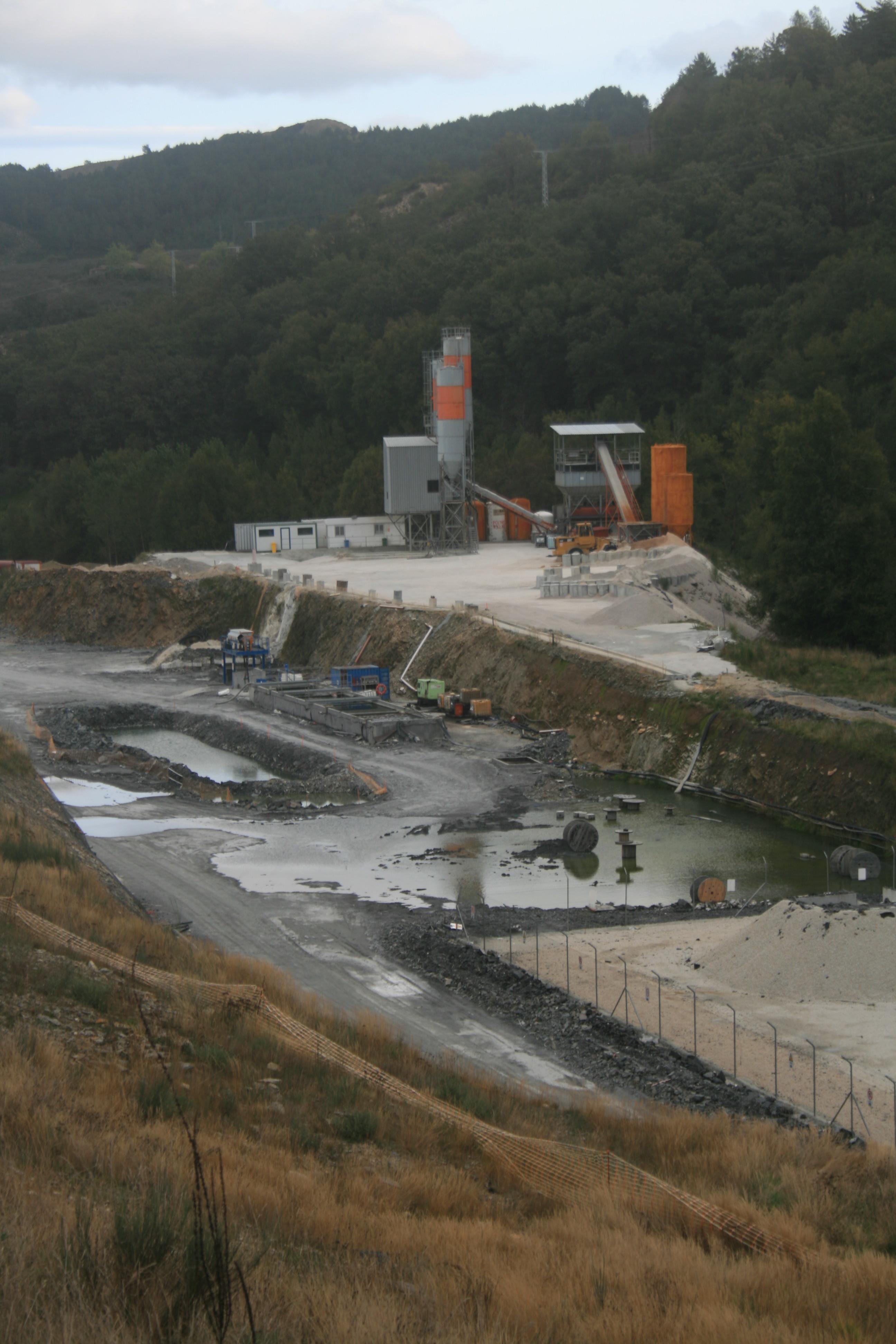 As obras do AVE na contorna de Campobecerros