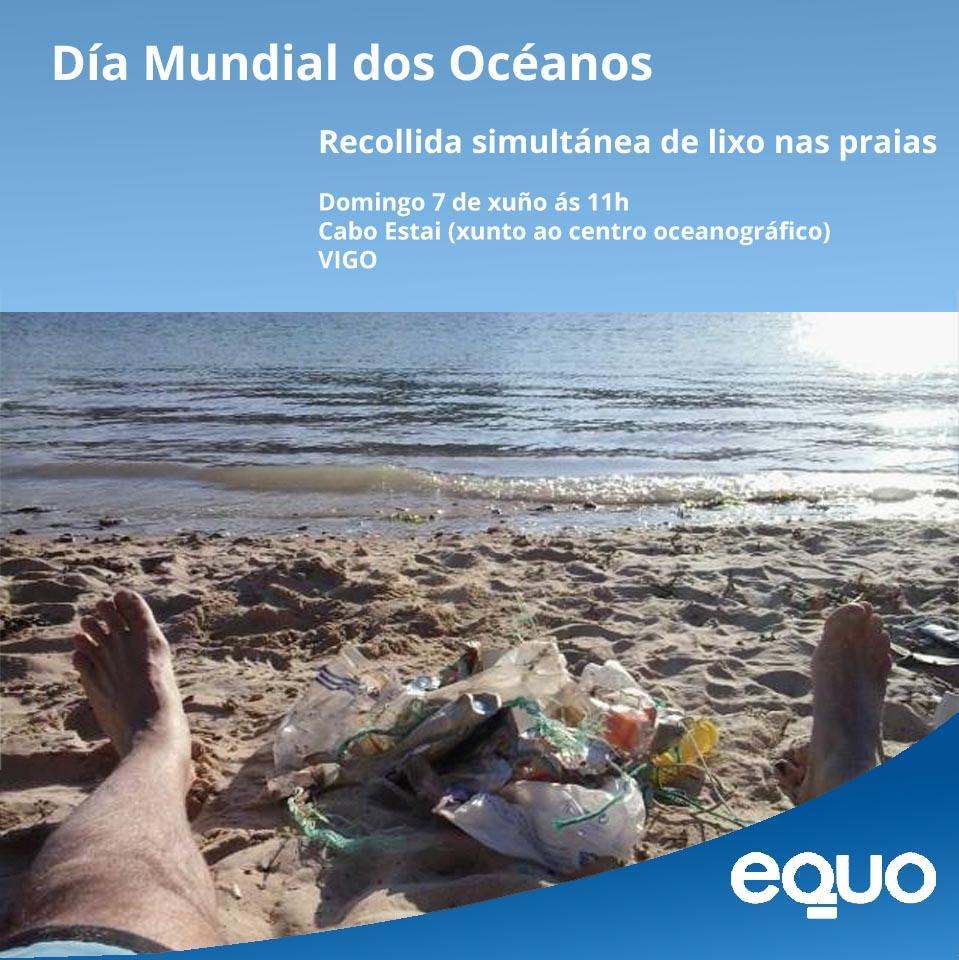 recollida lixo praia Cabo Estai 7 xuño 2015 ás 11h VIGO