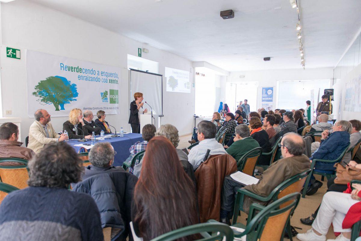 ESPAZO-EQUO constitúese en Cooperativa Política Galega do Ecoloxismo Político e fai unha aposta clara por Mareas en Común