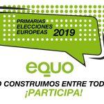 Lanzamos las primarias para las Elecciones Europeas 2019
