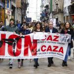 EQUO Galicia participa nas manifestacións contra a caza na Coruña e Vigo