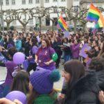 EQUO nas rúas de Galicia o 8M