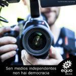 EQUO Galicia apoia aos profesionais da CRTVG nas protestas de Defende a Galega