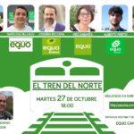 Debate sobre o futuro do Tren do Norte: Martes 27 de Outubro